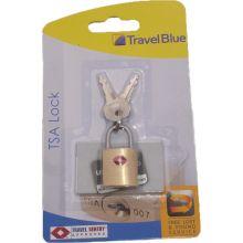 Λουκέτο Travel Blue TSA | Γκαρνταρόμπες - Αξεσουάρ Ταξιδίου στο MrBag.gr