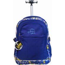 Σχολική Τσάντα Paxos Lois 105210 - ETHNIC με Ρόδες | Σακίδια Πλάτης στο MrBag.gr