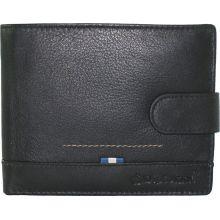 Ανδρικό Πορτοφόλι Δερμάτινο Diplomat MN112 Μαύρο |  στο MrBag.gr