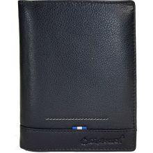 Ανδρικό Πορτοφόλι Δερμάτινο Diplomat MN114 Μαύρο |  στο MrBag.gr